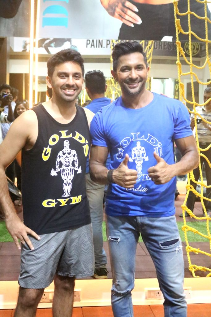 Choreographer Terence Lewis at a Mubmai gym  in Mumbai.