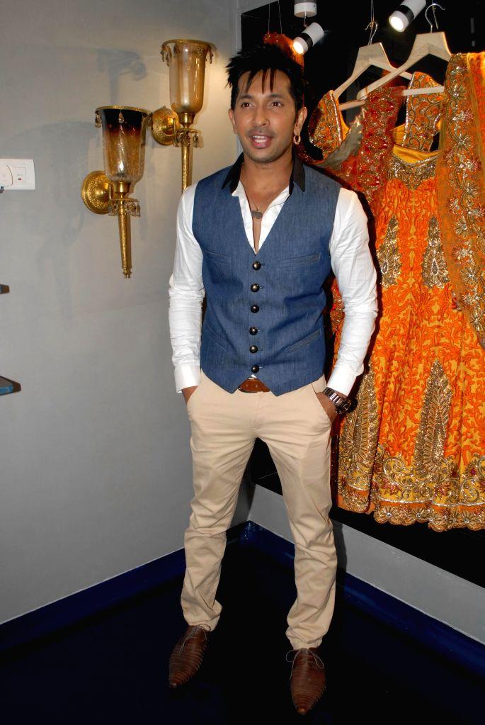 Choreographer Terence Lewis during the store opening of designer Mayyur Girotra in Mumbai, on April 18, 2014.