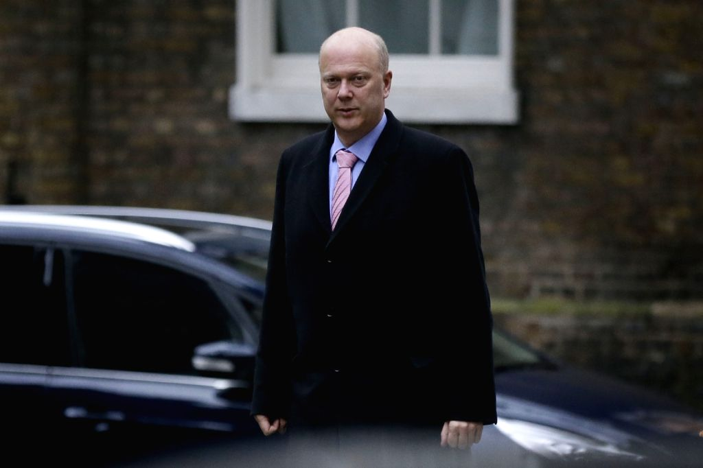 Chris Grayling. (Xinhua/Tim Ireland/IANS)
