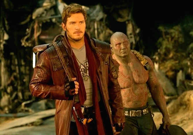 Chris Pratt reveals favourite part of his superhero costume.