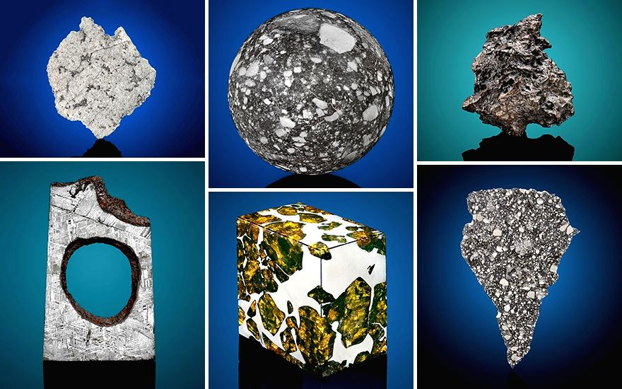 Christie's is offering rare meteorites on online auction (Source: Christie's)