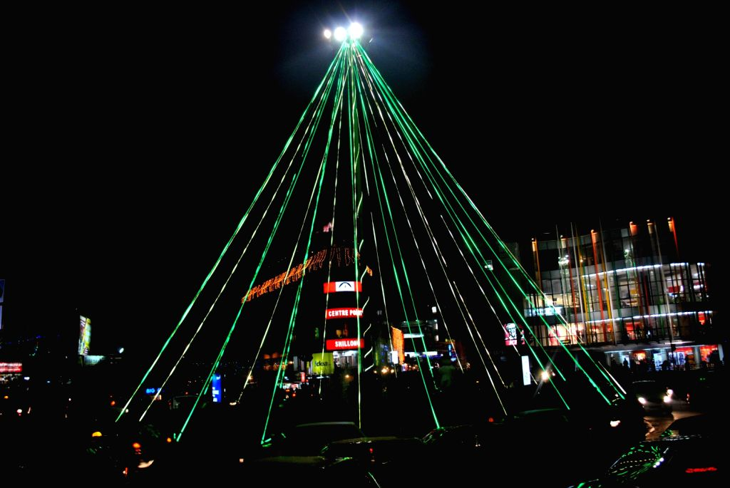 Christmas preparation begins in Shillong on Dec.20, 2013.