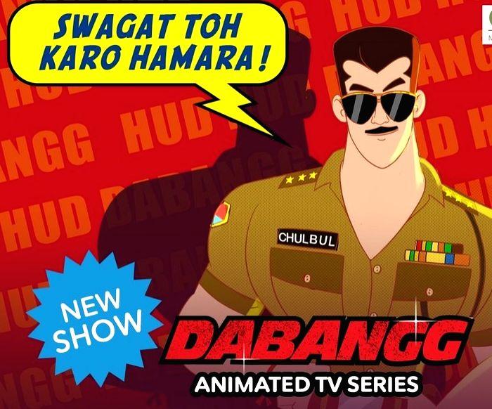 Chulbul Pandey gets animated avatar for little fans - Chulbul Pandey