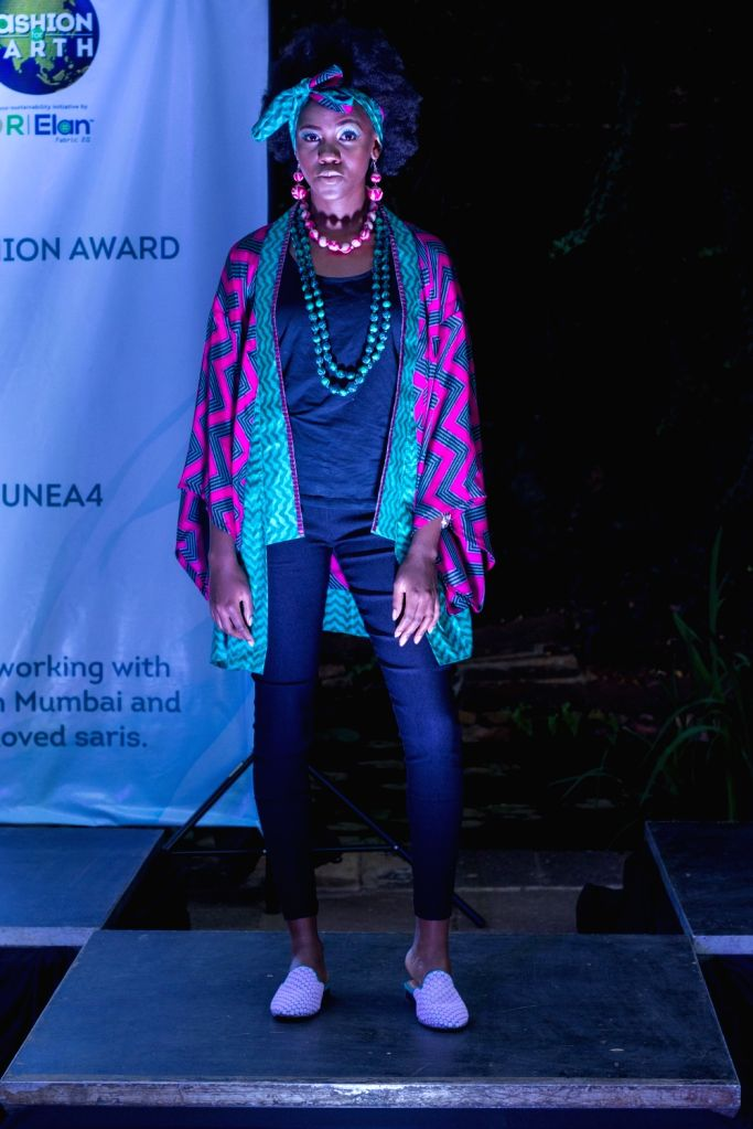 Circular Design Challenge 2019 winners 'I was a Sari' by designer duo Stefano Funari and Poornima Pande showcased their winning collection on the sidelines of the Fourth UN Environment Assembly in ...