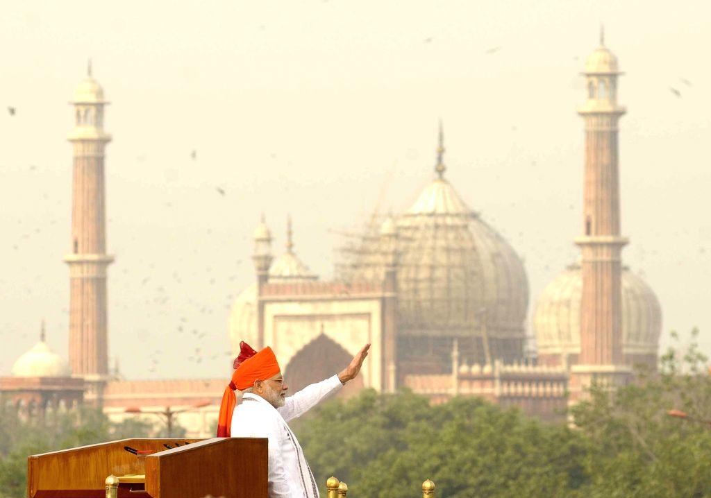 Citizens flood Namo app with ideas for PM's I-Day speech. (Photo: IANS)