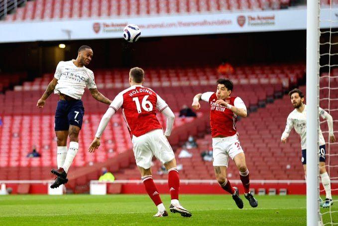 City maintain 10-point lead, United beat Newcastle 3-1.(photo:Premier League Twitter)