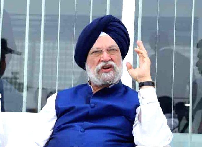 Civil Aviation Minister Hardeep Singh Puri - Hardeep Singh Puri