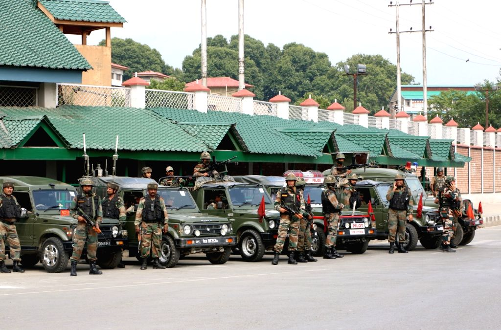 Civil secretariat in Srinagar. (Photo: IANS)