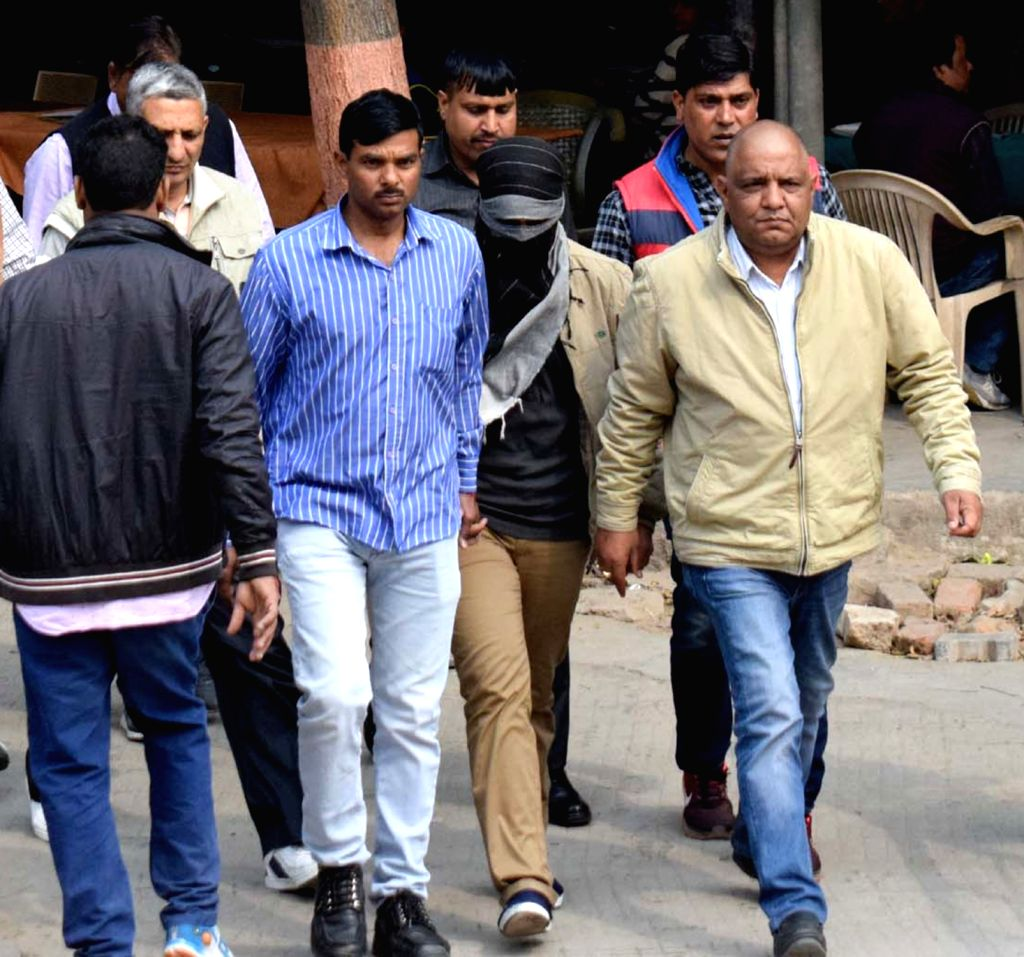 Class XI student of Ryan International School, arrested for allegedly murdering Class II student Pradhuman Thakur on September 8 last year, being taken to be produced before a court in ...