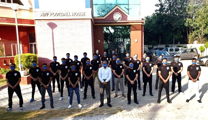 Classroom sessions for AIFF Masters kick-off.