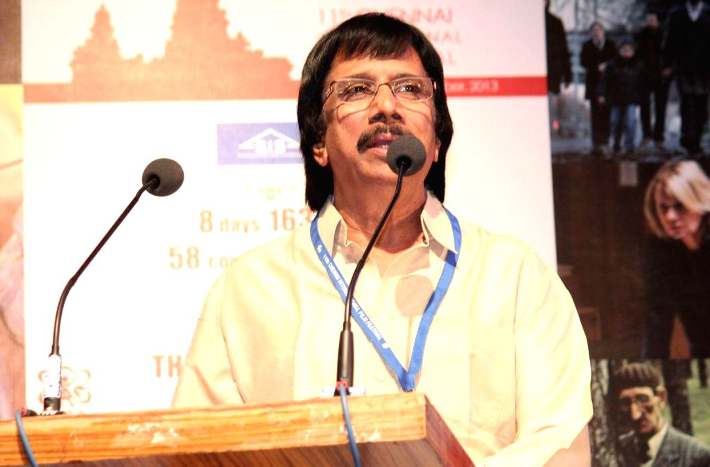 Closing and Award Function of 11th Chennai International Film Festival at Lady Andal School Auditorium in Chennai on Dec.20, 2013.