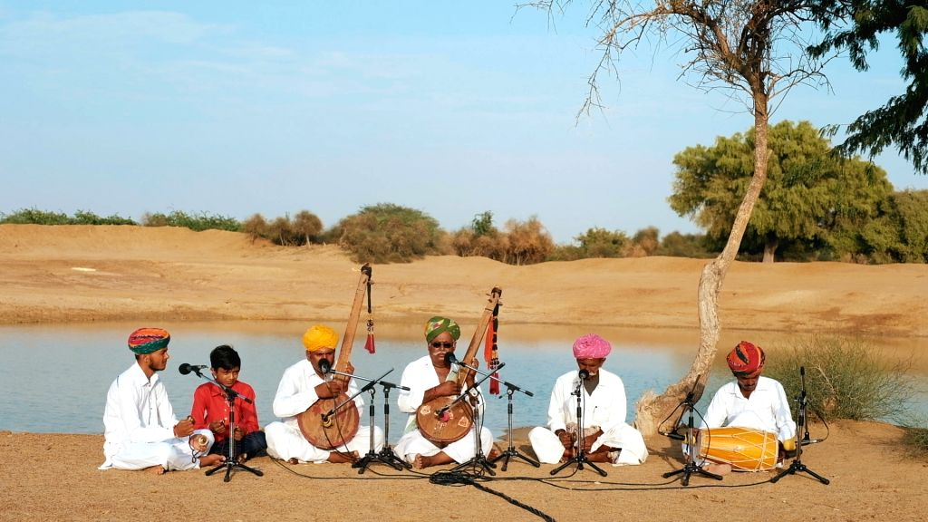 CM Ashok Gehlot Launches Digital COVID Relief Concert Series.