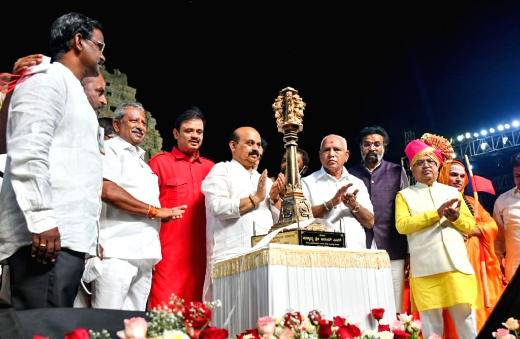 CM Bommai inaugurates new district Vijayanagar in K'taka, says Heli-tourism will be promoted in Hampi