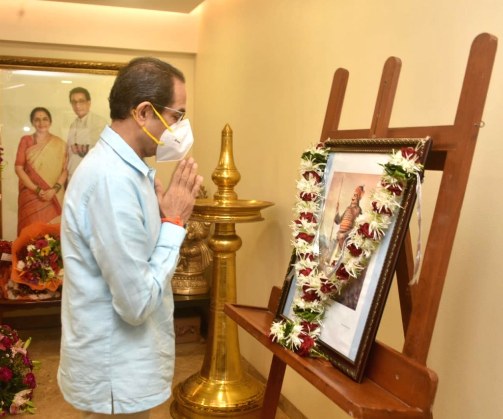 CM UDDHAV THACKERAY on Sunday paid homage to the 13th King of Mewar, Maharana Pratap Singh, on his 481st birth anniversary today. - Maharana Pratap Singh
