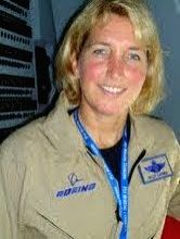 Col. Kelly Latimer of the USAF who flew the Boeing C-17 during its evaluation trials in India. (Photo: India Strategic).