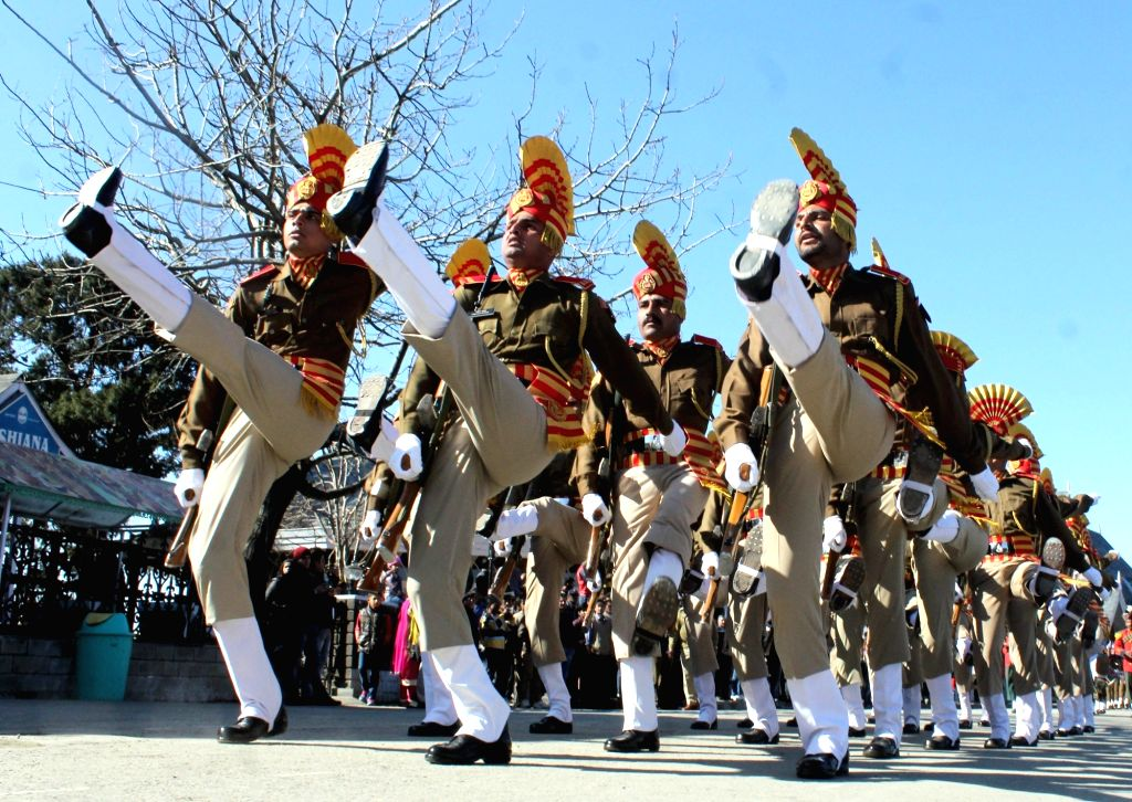 Cold has no impact on Himachal's R-Day celebrations. (Photo: IANS)