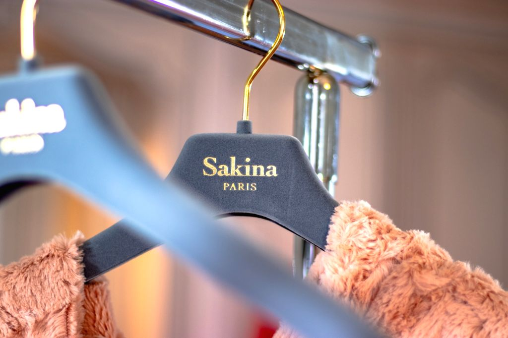 Collections of France based fashion designer Saknia Shbib at the ongoing Paris Fashion Week in Paris.