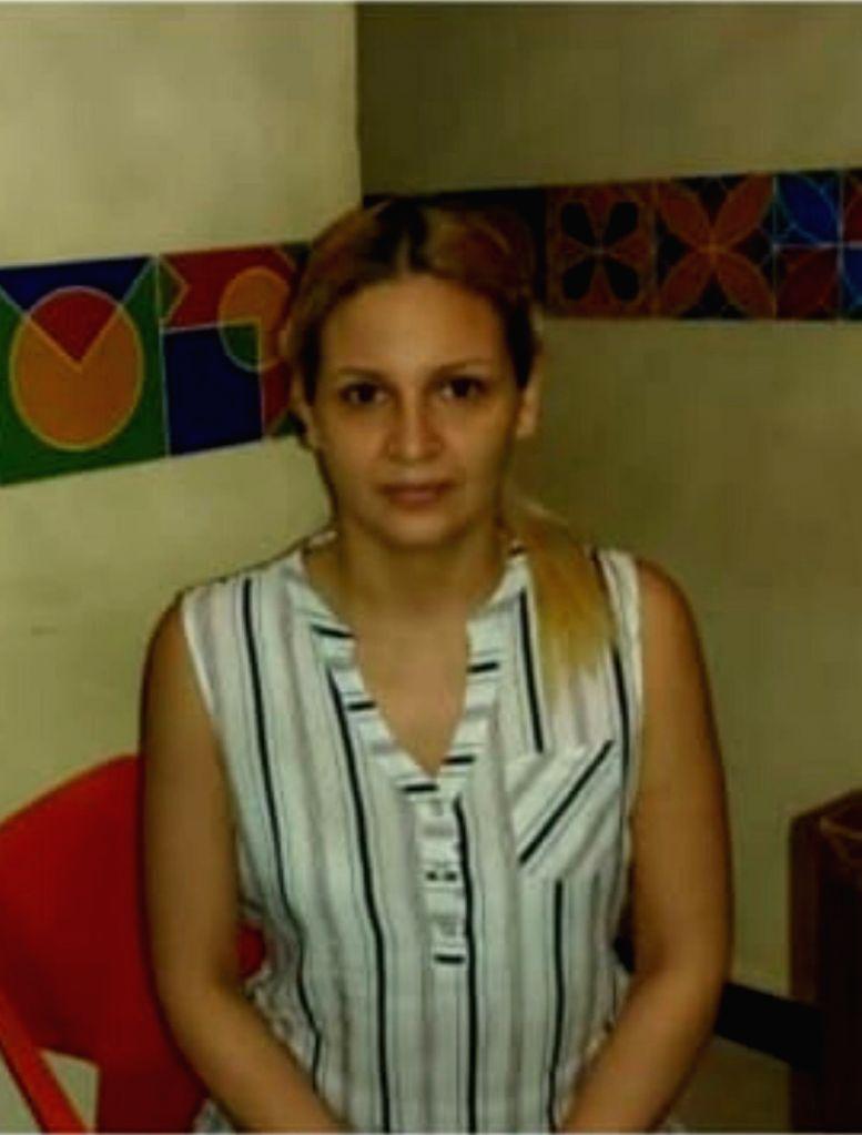 Colombian Tourist Jennifer Guarin Montoya.