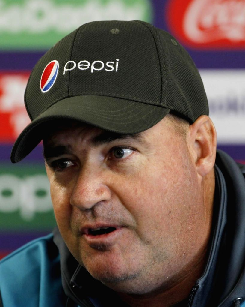 Colombo, June 3 (IANS) Sri Lanka head coach Mickey Arthur on Wednesday stated the bowlers are tying to get used to not applying saliva on cricket balls during their training sessions.(File Photo: Surjeet Yadav/IANS) - Surjeet Yadav
