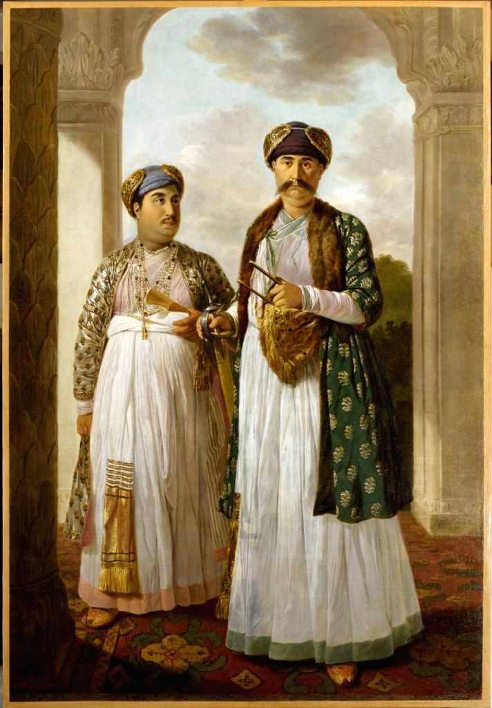 Colonel Antoine-Louis Henri Polier watching a nautch.