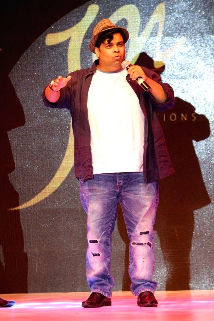 """Comedian and  Actor Kiku Sharda  at """"Avassa 2017 Fashion Show"""" in Mumbai on Oct 2, 2017. - Kiku Sharda"""