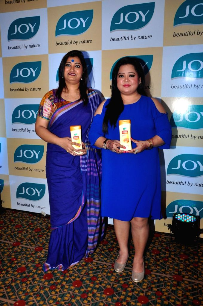 Comedian Bharti Singh during a promotional programme in Mumbai, on Oct 18, 2016. - Bharti Singh