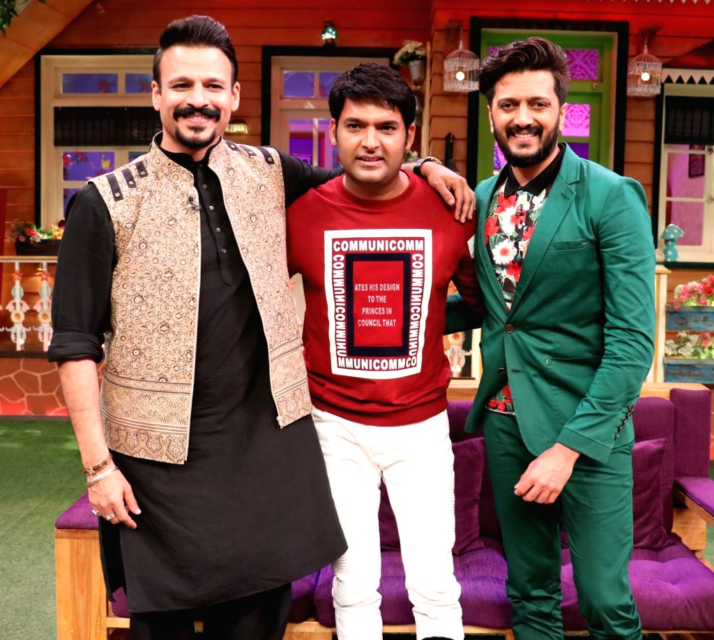 Promotion of film Bank Chor on the sets of The Kapil Sharma Show