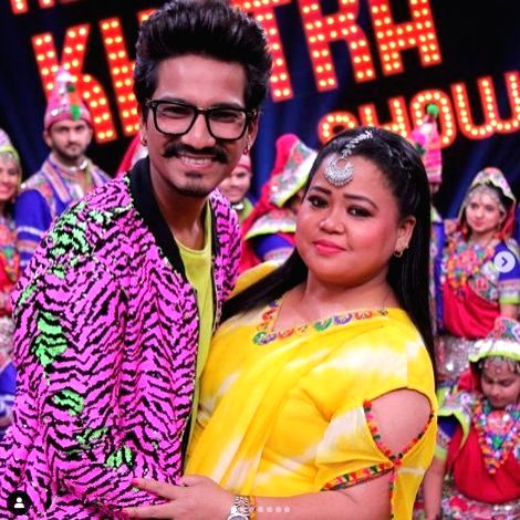 """Comedienne Bharti Singh and her husband and writer Haarsh Limbachiyaa are set to host the upcoming dance reality show """"India's Best Dancer"""", which will be judged by Malaika Arora, Geeta Kapur and Terence Lewis. - Bharti Singh and Malaika Arora"""