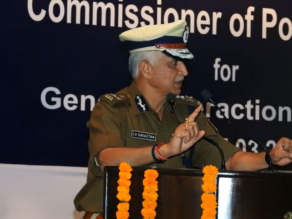 Commissioner of Delhi Police S. N. Shrivastava. (Photo: Sanjeev Kumar Singh Chauhan/IANS)