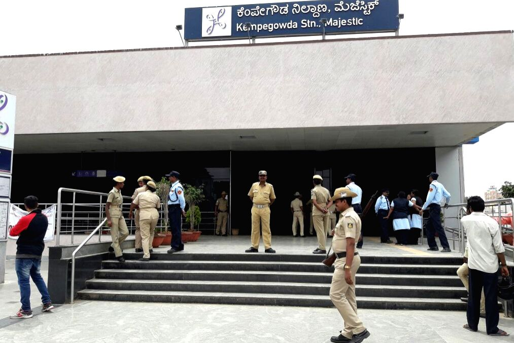 Commuters were affected as metro train service were shut due to a protest by Bangalore Metro Rail Corporation Limited (BMRCL) staff in Bengaluru on July 7, 2017. Bangalore Metro Rail ...
