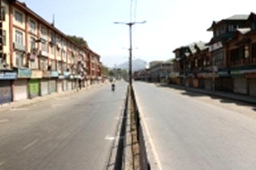 Complete solidarity shutdown in Himachal.