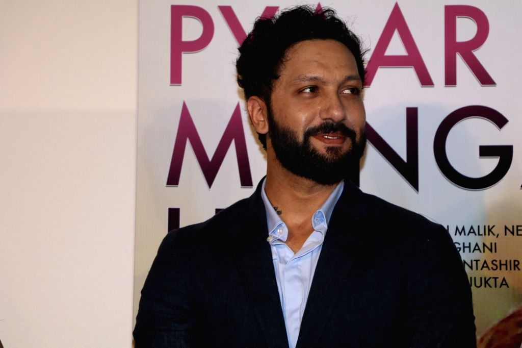 Composer Abhijit Vaghani during the song launch of Pyaar Manga Hai, in Mumbai on August 3, 2016