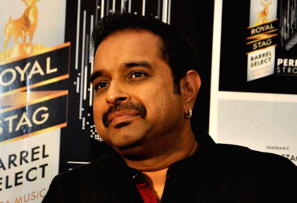 Composer Shankar Mahadevan during a promotional programme in Kolkata on Nov 25, 2016.