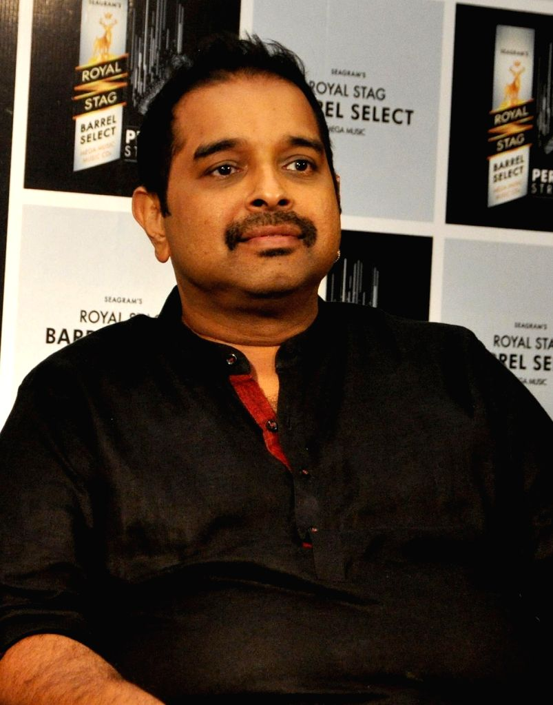 Composer Shankar Mahadevan during a promotional programme in Kolkata on Nov 25, 2016.