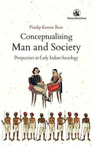 Conceptualising Man and Society Book Cover.