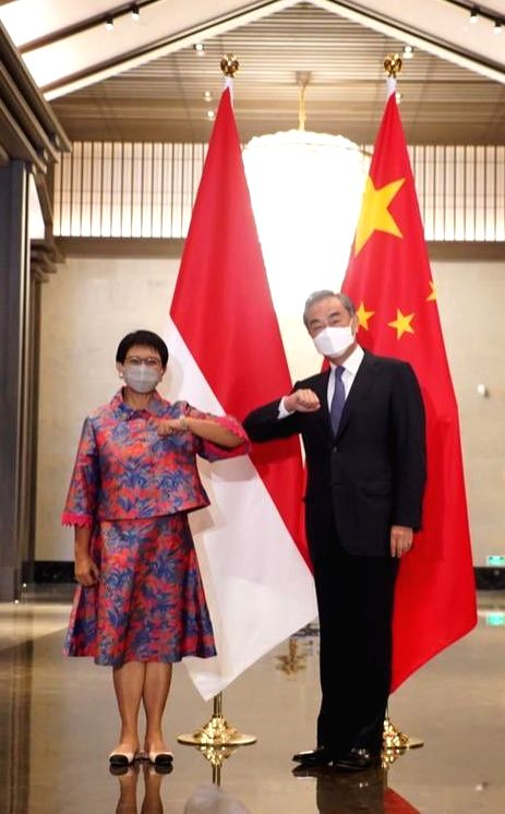Concerned China extends hand of friendship to Indonesia.