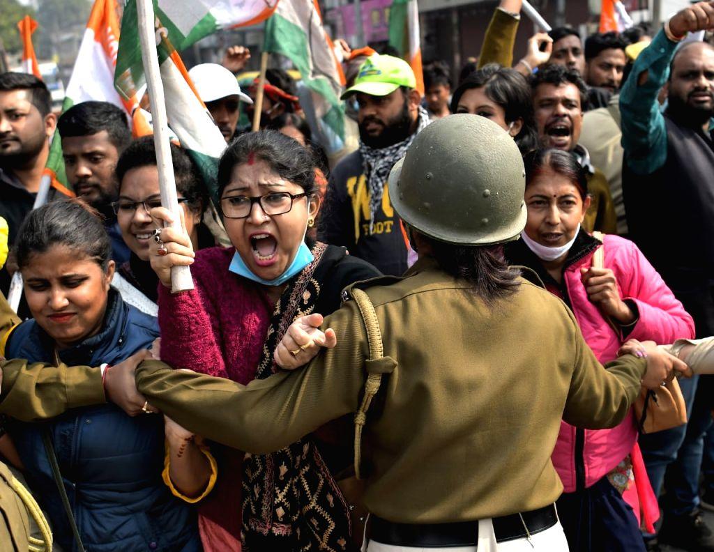 Cong's 12-hour shutdown call evokes partial response in Tripura.