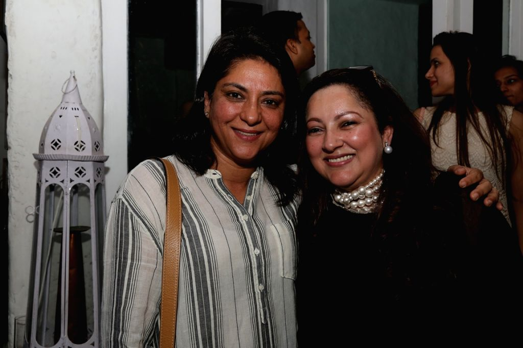 Congress er Priya Dutt duringt the book launch of Drama Teen author by Lina Ashar in Mumbai on Jan 24, 2017 - Leader Priya Dutt