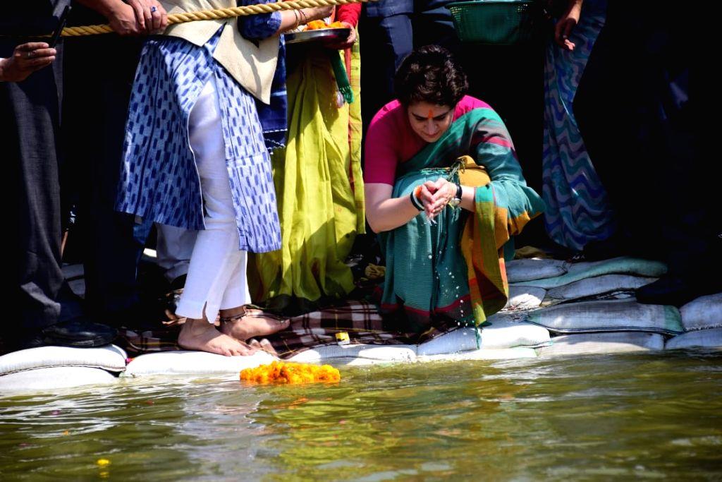 Image result for priyamka at ganga