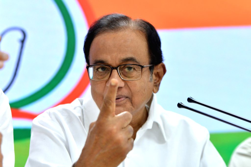 Congress leader P. Chidambaram. (Photo: IANS)
