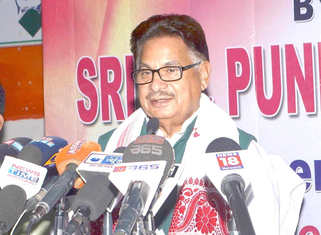 Congress leader PL Punia. (Photo: IANS)