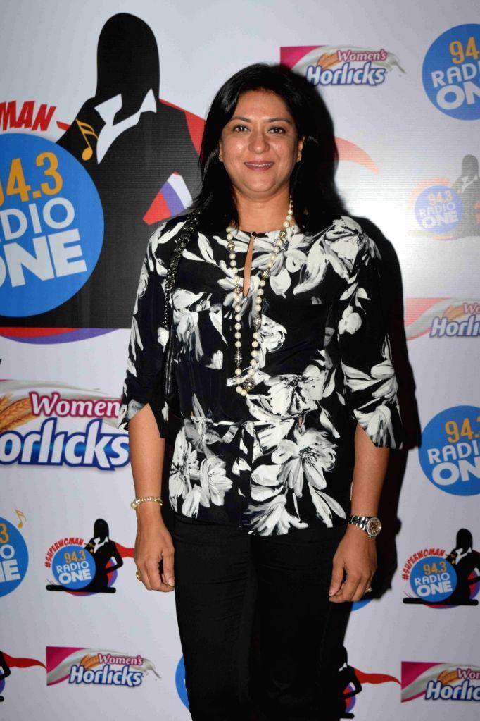 Congress leader Priya Dutt during Radio One's Superwoman awards in Mumbai on Oct 22, 2015. - Priya Dutt