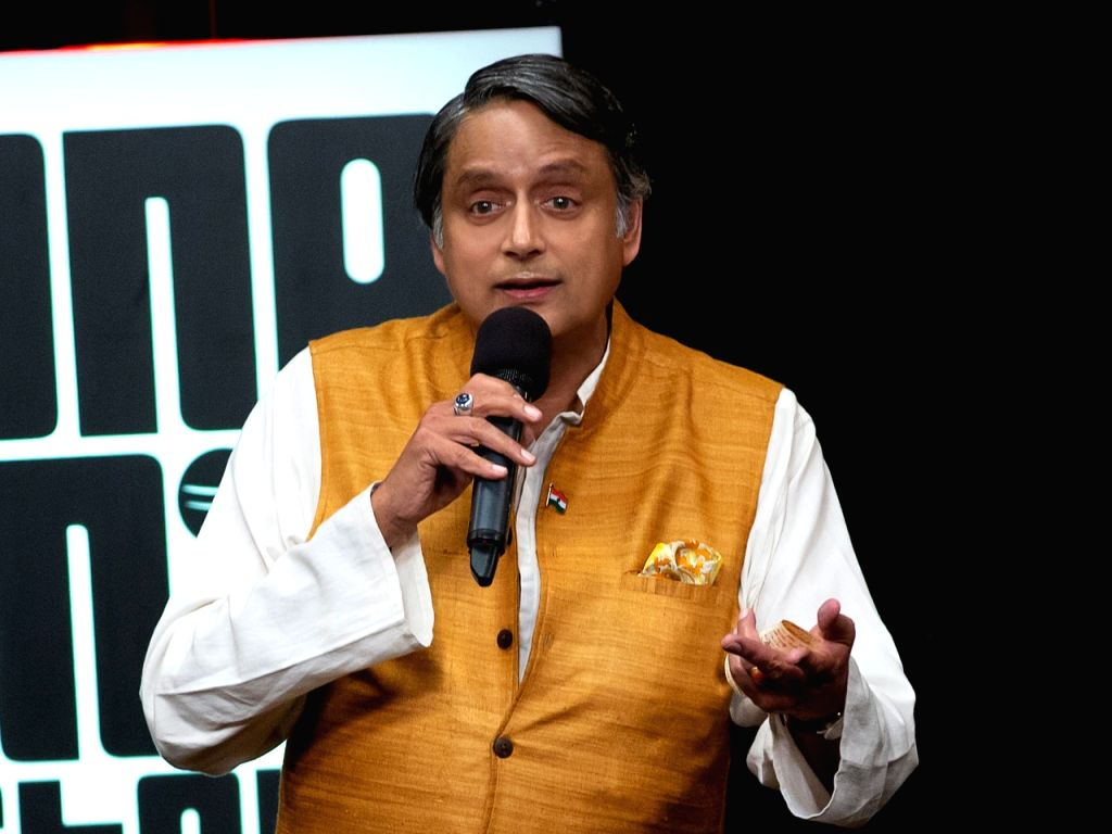 "Congress MP Shashi Tharoor is giving comedy a shot for the first time with ""One Mic Stand"", and says embracing stand-up comedy has been an overwhelming experience. - Shashi Tharoor"