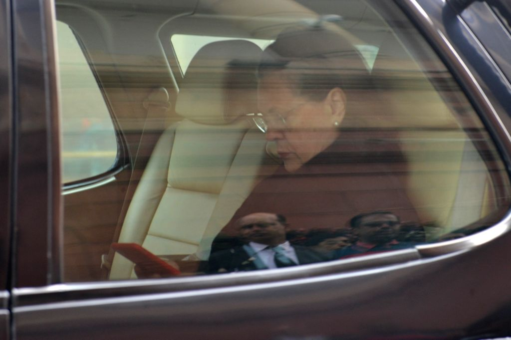 Congress MP Sonia Gandhi arrives at Parliament in New Delhi on Dec 12, 2019. - Sonia Gandhi