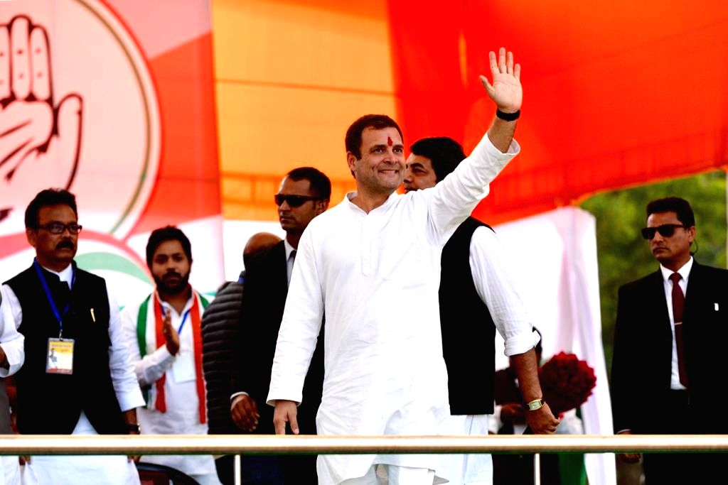 Congress President Rahul Gandhi during a party rally in Ranchi on March 2, 2019. - Rahul Gandhi