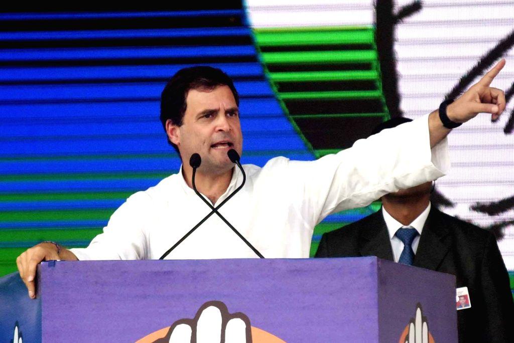 Congress President Rahul Gandhi. (File Photo: IANS) - Rahul Gandhi