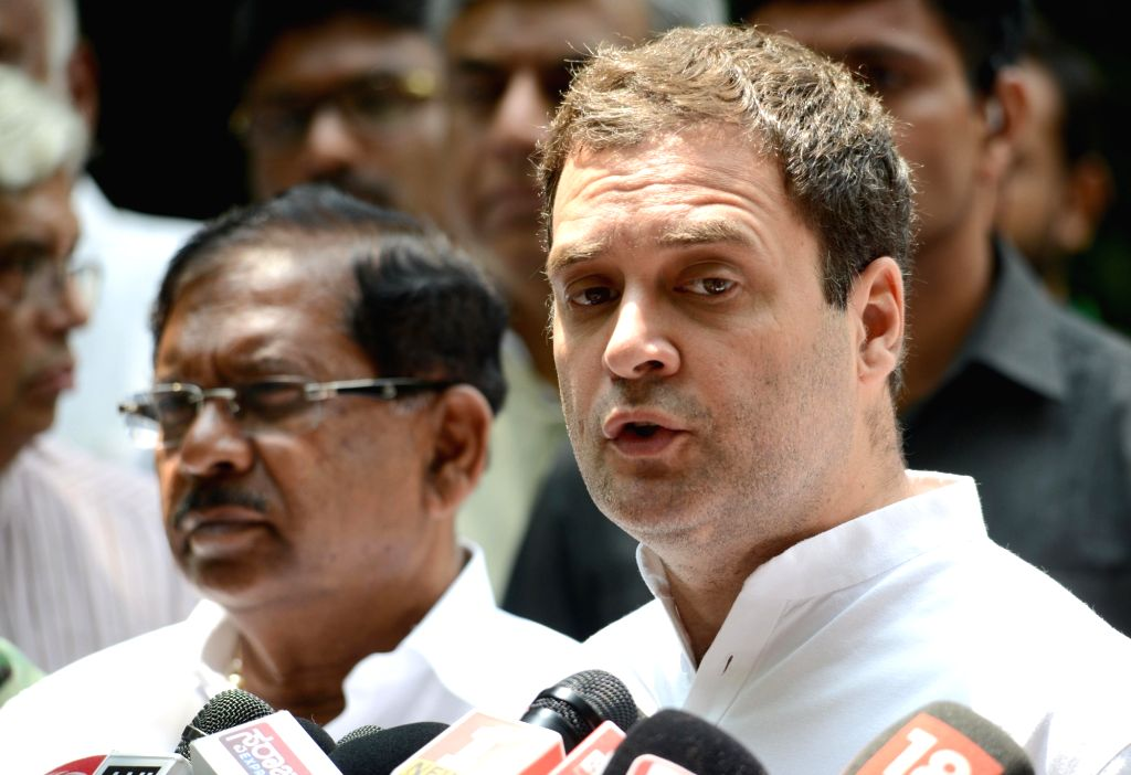 Congress President Rahul Gandhi.(Photo: IANS) - Rahul Gandhi