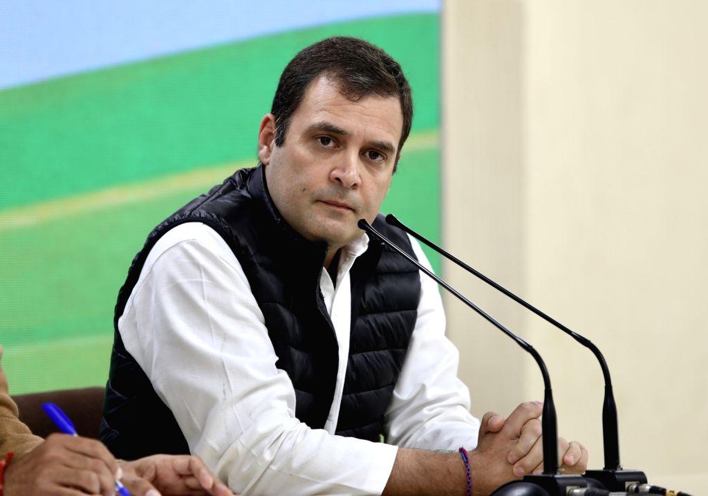Congress President Rahul Gandhi. (Photo: IANS) - Rahul Gandhi