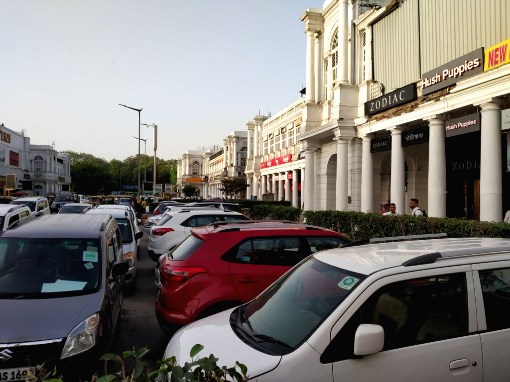 Connaught Place in New Delhi. (Photo: IANS)