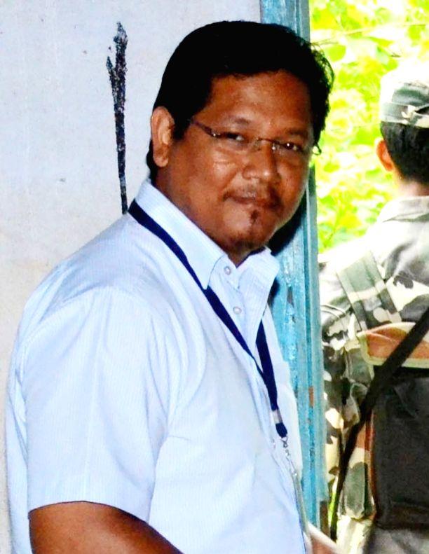 Conrad K. Sangma. (File Photo: IANS)